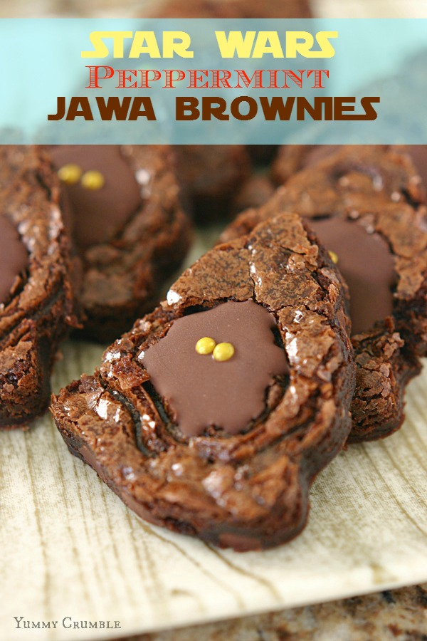 peppermint jawa brownies - www.yummycrumble.com