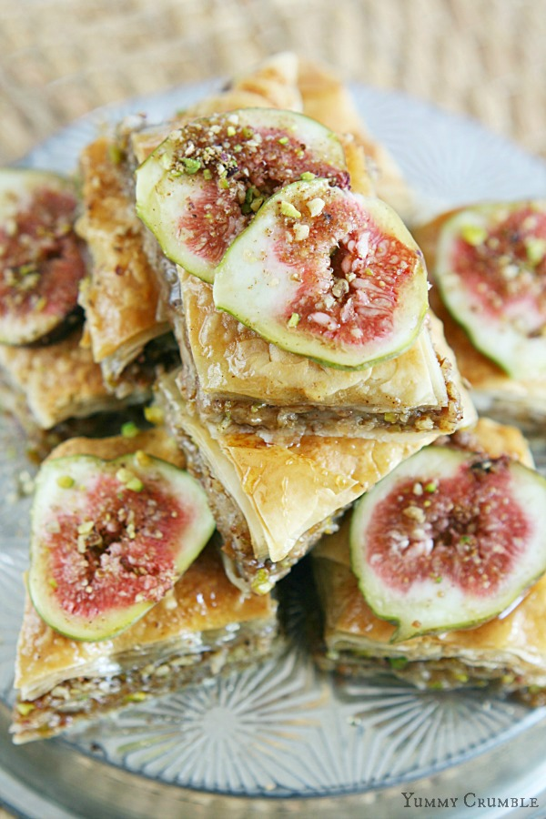 Pear and Fig Baklava
