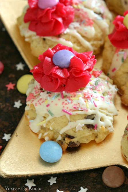 smarties soft sugar cookies